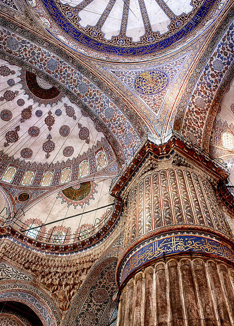 Inside Blue Mosque in Ramadan on Flickr.