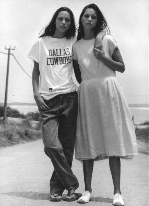 nohhumh:  In Uruguay photographed by Bruce Weber, Vogue Italia May 1998