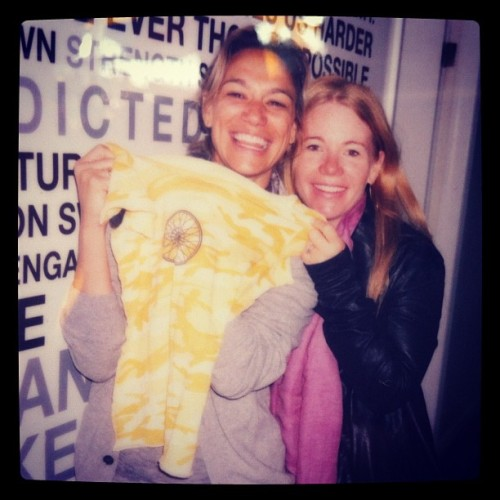 My heart is serenading you - Julie + Elizabeth - @soulcycle just keeps getting better. Lara @ w77 KILLED IT! (Taken with Instagram at Soul Cycle)