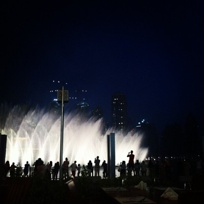 Dancing water  (Taken with Instagram)