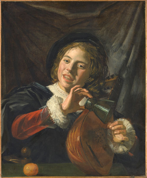 Frans Hals (1582/83–1666) - Boy with a Lute (1625) - Metropolitan Museum of Art - New York
