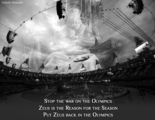 Put Zeus back in the Olympics!