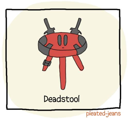 pleatedjeans:  Household Superheroes