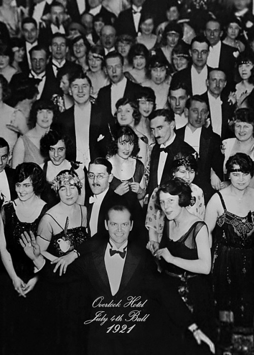 moviesmusictv:  Cheers from the Overlook Hotel!