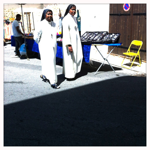 nuns out for a stroll
