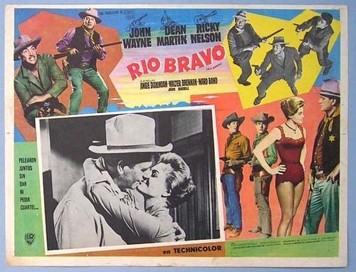 foreign lobby card for Rio Bravo