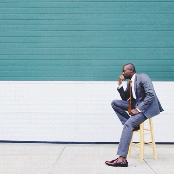 On the blog, a #styleprofile editorial on @dresscodeboston! #boston #menswear #mens #reiss #JLmens  (Taken with Instagram)