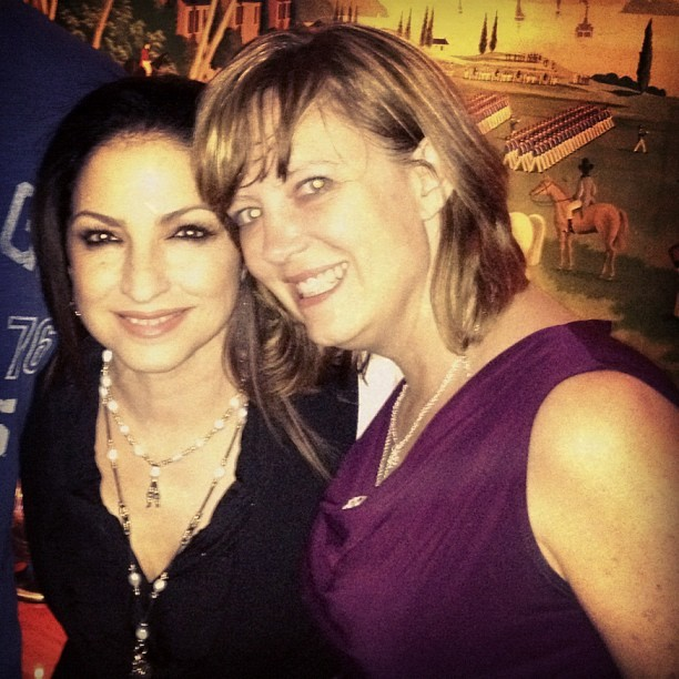 chillin' with Gloria Estefan in Chicago #latergram (Taken with Instagram)
