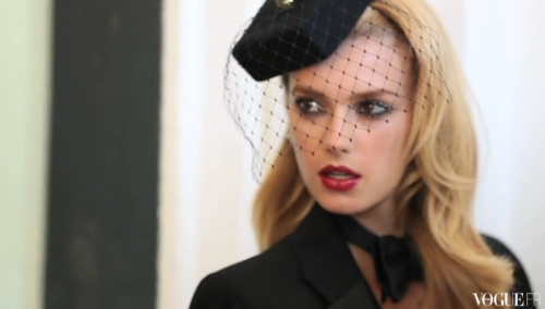 VIDEO: 'La Parisienne Selon Lloyd Simmonds,' for Vogue Paris. Watch video here.
