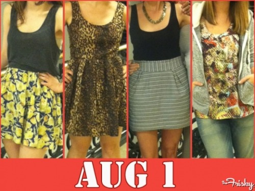 August 1: What Are We Wearing Today?