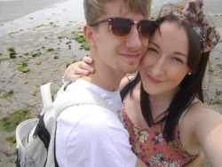 Me and my boyfriend on a recent holiday away :)