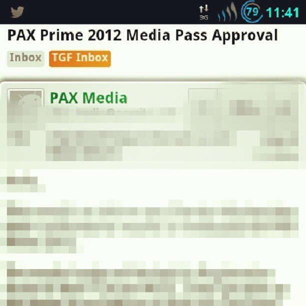 Seattle, here we come. #PAX #PAXPrime #PAX2012 #gaming  (Taken with Instagram)