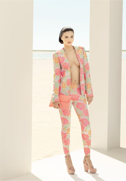 Miranda Kerr for David Jones Spring Summer Photoshoot