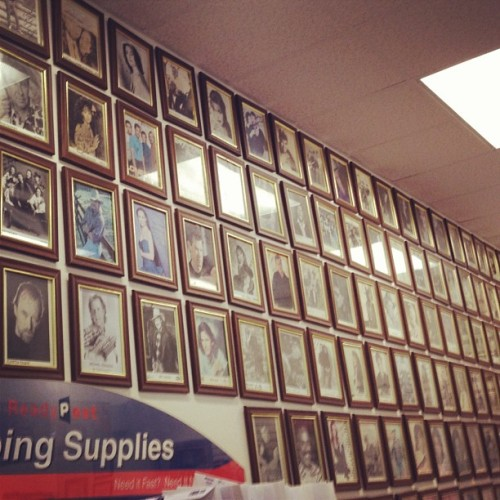 Nashville post office hall of fame. Home of music legends. #nashville  (Taken with Instagram)