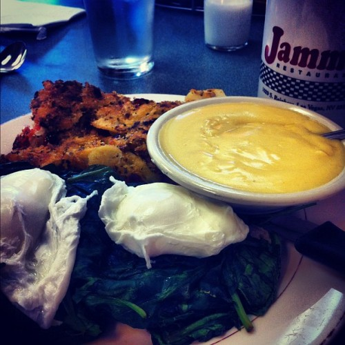 With @andyzinsser  (Taken with Instagram at Jamm's Restaurant)