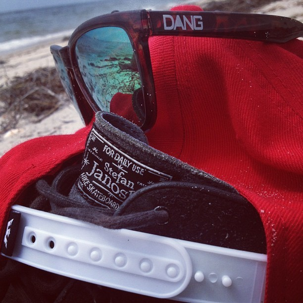 Beach Chilling #summer #beach #cape #capecod #chill #supra #dang #skateboarding #skate #shred #dope #longboarding #nike #janoski #nikesb  (Taken with Instagram at Stage Harbor Lighthouse)
