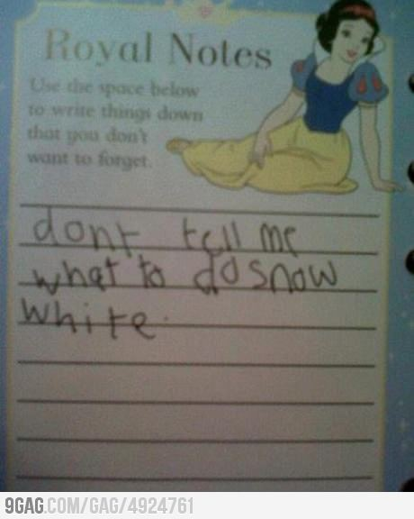 9gag:  Found this in my little sister's diary