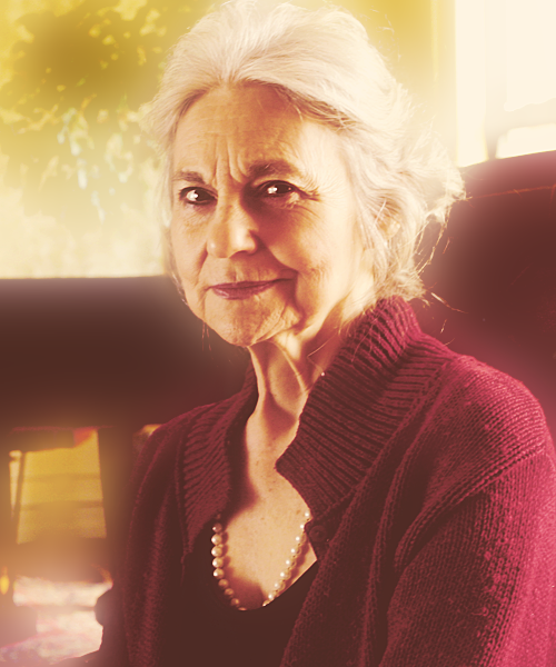 Lynn Cohen as Mags, the female tribute from District 4 in the Seventy-Fifth Hunger Games.