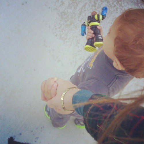 Off to the #Park with the little dude and his little dude (Taken with Instagram)