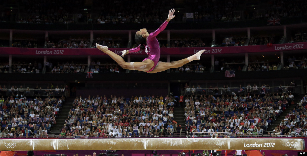 washingtonpoststyle:  Gabby. Gold. Photo via the AP