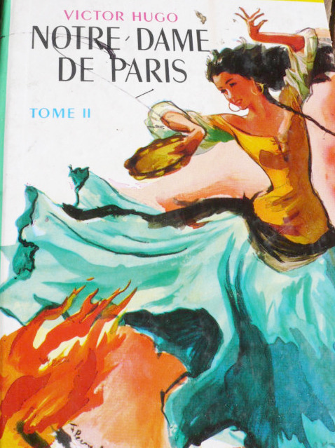 dancelaesmeralda:  Cover of a vintage 1950 French edition of Notre-Dame de Paris, Tome II.