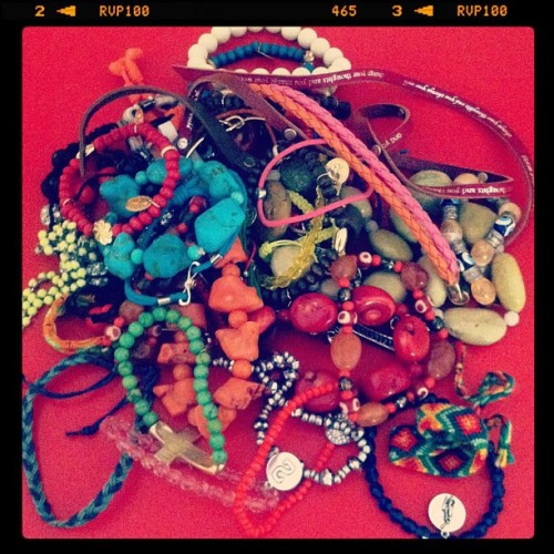Love bracelets! #armswag #armparty #accesories (Taken with Instagram)