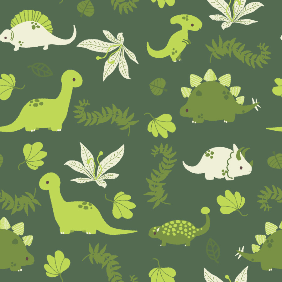 fuckyeahdinoart:  lauraillustrates:  Free dinosaur pattern for use! Pretty sure it's seamless! I'm always afraid that it isn't, but I tested it on my desktop and it looks okay.  I really need someone to message to test these for me, haha.   Looks like we've got a new background!