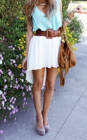 #PinterestFashionFind: Beautiful soft & flowy look for summer. As seen on: pinterest.com/summerkierra/