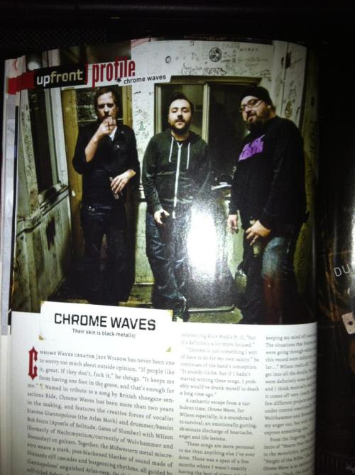 New article in Decibel.