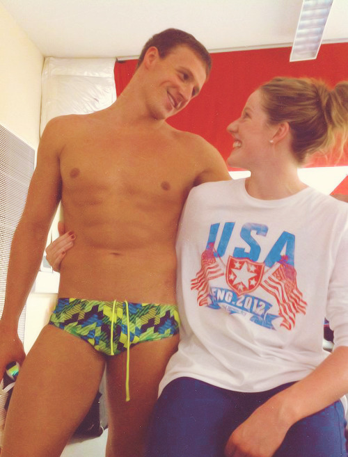 Ryan Lochte and Missy Franklin (source)