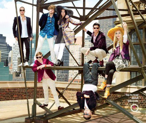 The Wanted Glamour Magazine Photoshoot.