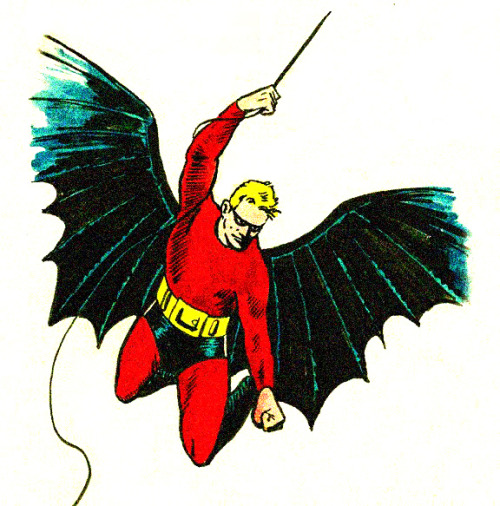 Without Bill Finger, this is pretty much what Batman would have looked like.   Apparently DC can't list him as a co-creator for legal reasons, but they could at least add a 'Special Thanks to Bill Finger' right next to the (incomplete) 'Batman created by Bob Kane'.   Well, while DC doesn't feel inclined to go there, the real Batman fans know what's what. Bill Finger, we thank you for giving us the Batman we recognize and love these days.