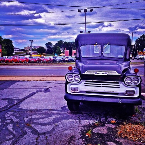 At Rest In The #Roadside In #Pennsylvania: #Chevrolet #Apache #Vintage #Truck #Automobile  (Taken with Instagram at Barto, Pennsylvania)
