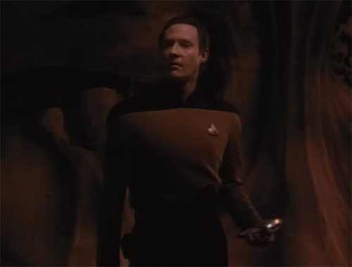 """Is that the purpose of existence? To care for someone?"" - Data"