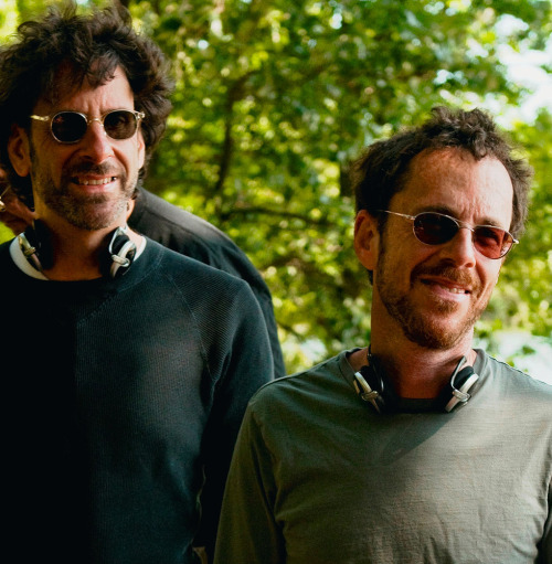tarkowski:  Joel Coen & Ethan Coen on the set of A Serious Man