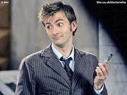 Doctor Who 30 Day Challenge Day 01: Favorite Doctor David Tennant. Duh.