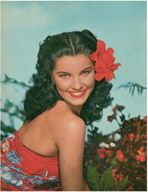 Debra Paget Film Review Magazine, 1952