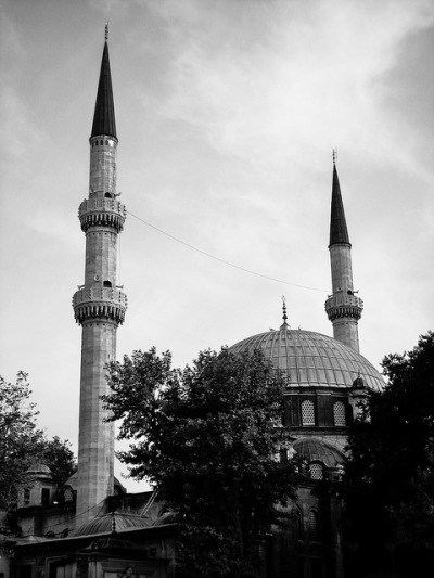 The Eyüp Sultan Mosque – the first mosque built by the Ottoman Turks following their conquest of the city in 1453 / by yon_willis