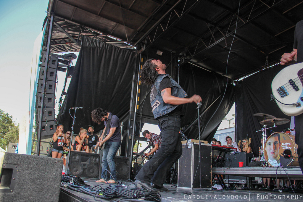 John Nolan & Adam Lazarra // Taking Back Sunday - Vans Warped Tour // West Palm, FL