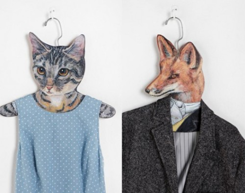 Animal clothes hangers, because why not? COSTS: $12