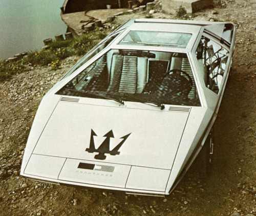automotiveporn:  Maserati Boomerang