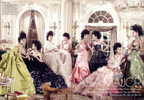 Asia Major Vogue Spread