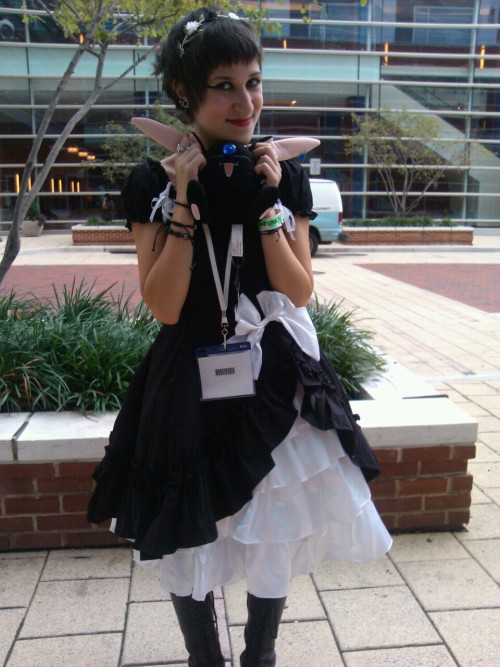 mizerysamusement:  Jess was a Goth lolita, and pretty much the cutest fucking thing in the planet! :3