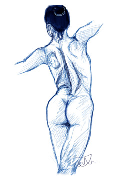 Back Study Artwork (C) Jessica de Mattos