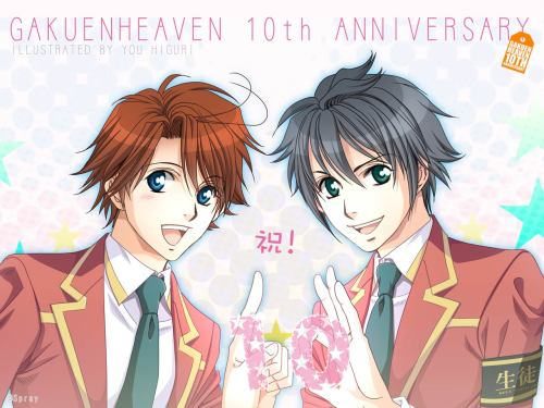 fyeahblgames:  学園ヘヴン 10th anniversary!  omg seriously? I feel so old >.>