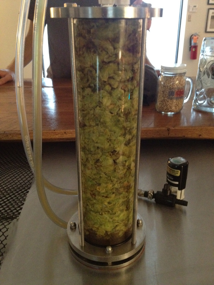 Happy IPA Day!! Hardywood's Belgian Double IPA run through a Randall with whole leaf Summit, Citra, Simcoe, and Sorachi Ace hops. Also have the Hoplar IPA aged in bourbon barrels on draft. Anyone else drinking some awesome IPAs today?