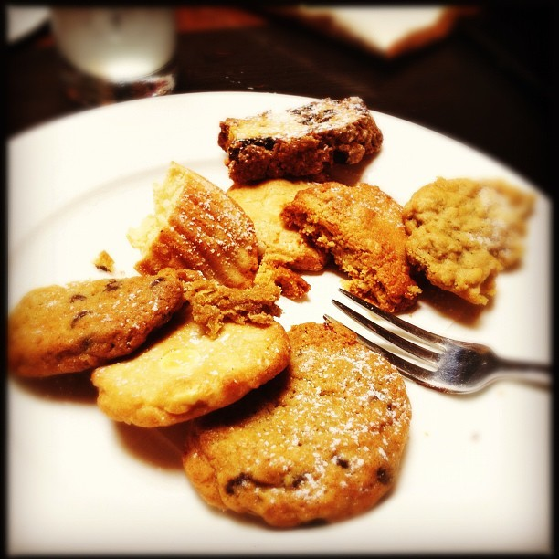 #Cookie Plate.. dessert at The Mark (Taken with Instagram)