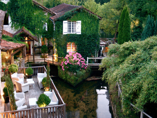 17th century french mill, renovated into a hotel