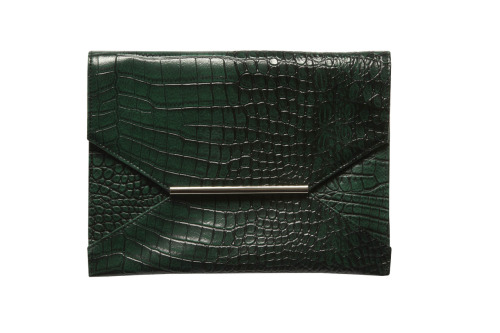 This gorgeous green clutch is a mere $20, ladies! See more chicness from Target's fall collection right over here.