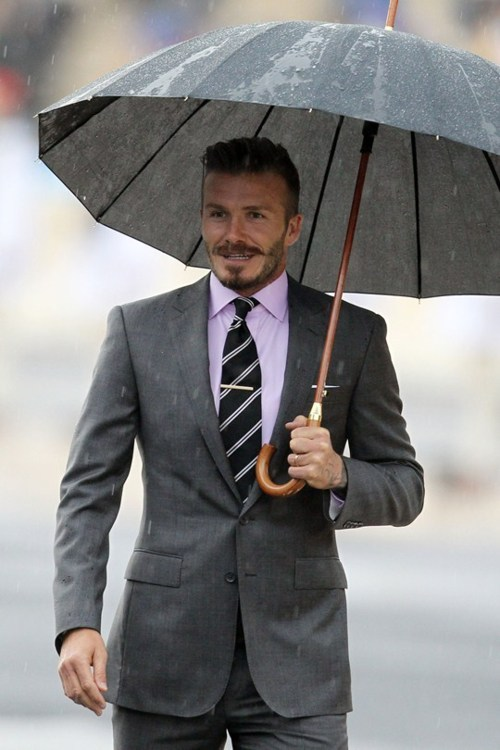 dailycoolmag:  David Beckham.